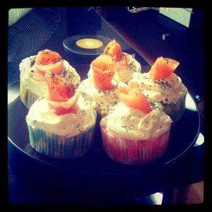 cupcake saumon
